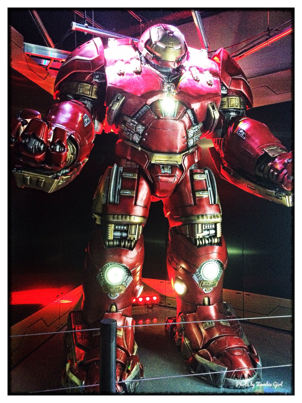 The Hulkbuster suit in Vegas
